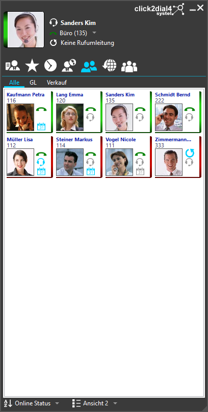 click2dial4 Client - Team